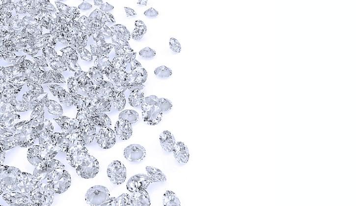 ダイヤモンドの粒