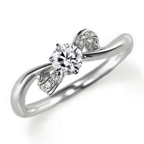 婚約指輪(エンゲージリング)ダイヤモンド0.3カラット