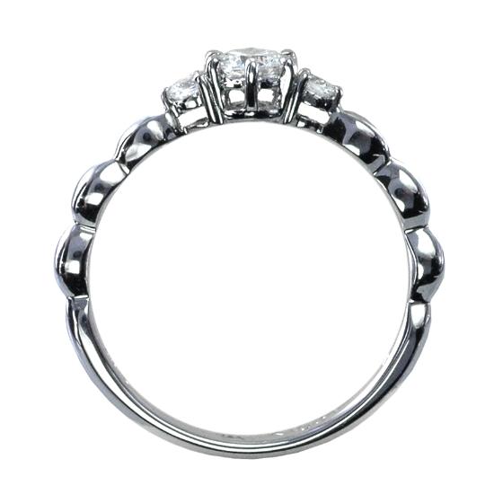 婚約指輪・スリーストーン