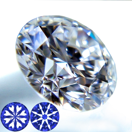 ハートアンドキューピッドのダイヤモンドルース