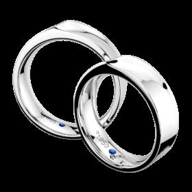 新作デザインの結婚指輪(マリッジリング)・さざなみ