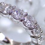 ダイヤモンドの拡大写真
