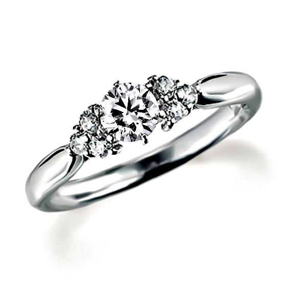 メレタイプの婚約指輪