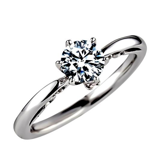 婚約指輪・ソリティア