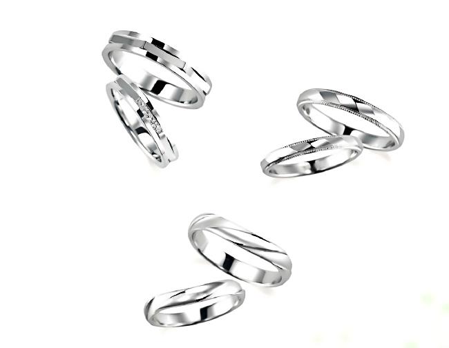 結婚指輪・ペア3組