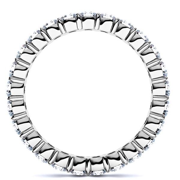 プラチナ950・フルエタニティリング・ダイヤモンド直径2.0mm