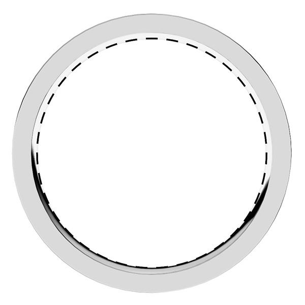 レール留め・フルエタニティリング・ダイヤモンド直径1.8mm・レール幅2.8mm
