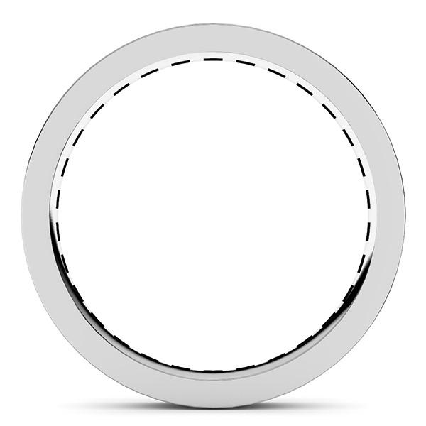 レール留め・フルエタニティリング・ダイヤモンド直径2.0mm・レール幅3.0mm