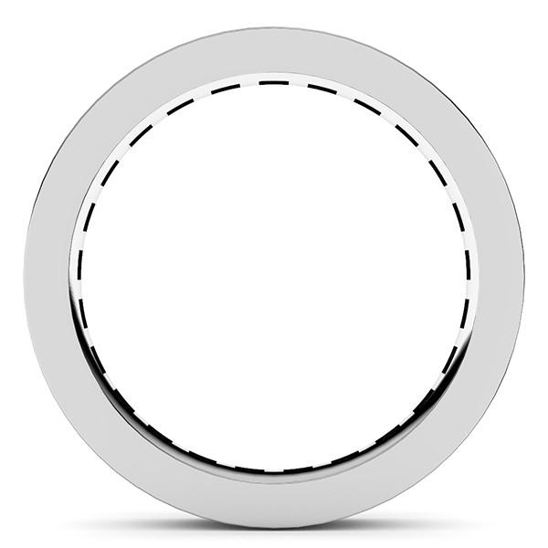 レール留め・フルエタニティリング・ダイヤモンド直径2.5mm・レール幅3.5mm