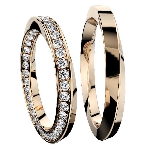 2019結婚指輪・インフィニティフル・ピンクゴールド