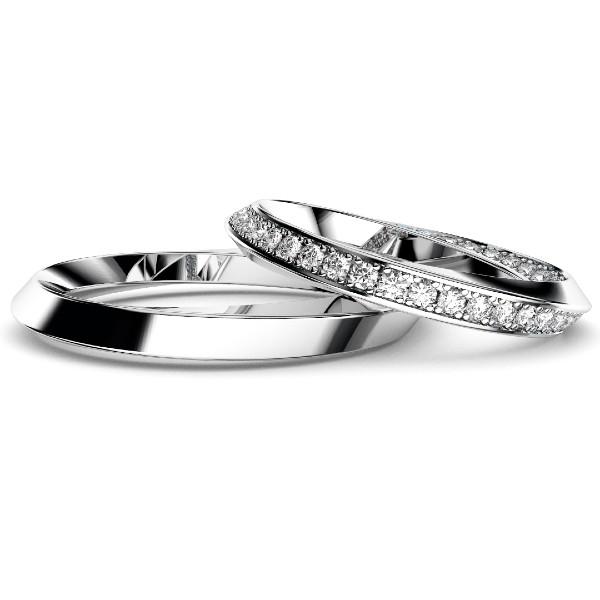 2019結婚指輪・インフィニティ・フルプラチナ・950