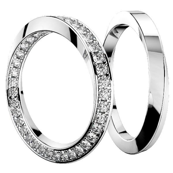 2019結婚指輪・インフィニティフル・プラチナ950