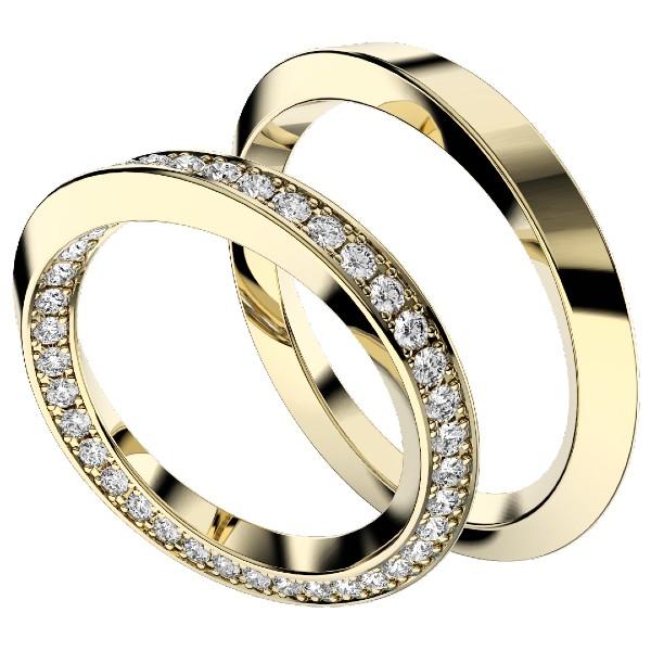 2019結婚指輪・インフィニティフル・イエローゴールド