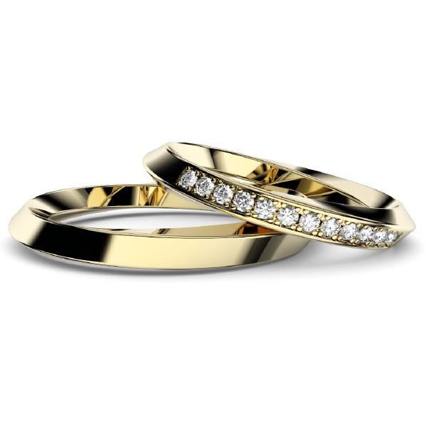 2019結婚指輪・イエローゴールドインフィニティ