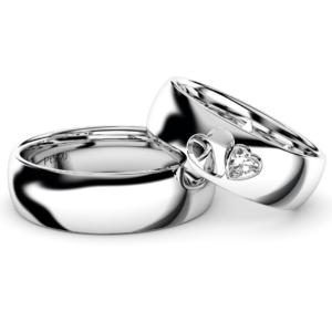 2019新作デザイン結婚指輪・loveHeart・プラチナ950