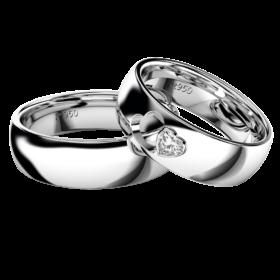 2019新作デザイン結婚指輪・loveHeart・ダイヤモンド・プラチナ950