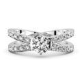 ダイヤモンドルースからオーダーメイドで指輪をつくる